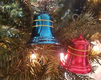Vintage Christmas Bell Ornaments