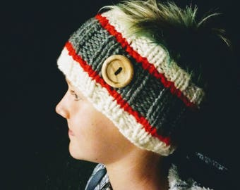 Chunky Ribbed Ear Warmer