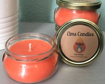 Peach Soy Candle