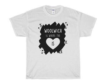 Woolwich Is Where The Heart Is T-Shirts/Sweaters/Hoodies