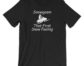Funny Snowmobiling Lovers T-Shirt