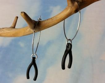 Wishbone Hoops ((Black))