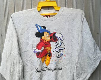 Vintage Mickey Walt Disney World Sweatshirt Size XL