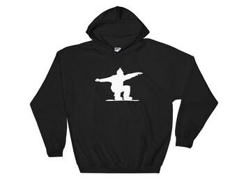 SnowBoarding Hoodie - Sweatshirt Women - Sweatshirt Men - Snowboard - Olympics - Longsleeve - Boyfriend Gift - Snowboarding Gifts - Winter