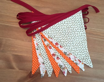 Autumn Time Bunting