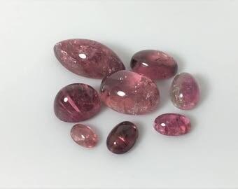 Pink Tourmaline Cabochon, 26.0 carat total weight