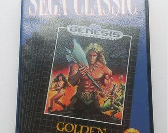 Authentic Golden Axe sega genesis complete. Excellent condition
