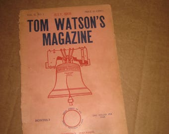 Tom Watson's Magazine back issue dated 1905   [c4752o]