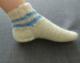 Wool Socks - Winter Socks. Handmade.
