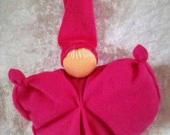 Wiegepopje Fuchsia Pink