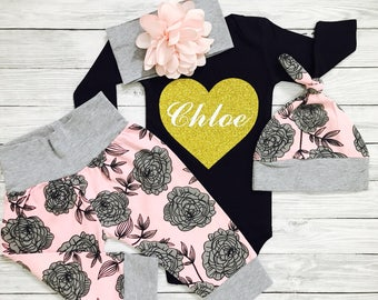 Baby Clothes, Baby Girl Clothes, Personalized Baby Clothes, Baby Girl Clothes Winter, Newborn Girl Clothes, Baby Clothes Girl, Baby Girl