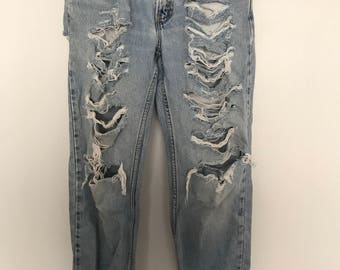 Custom Denim Distressd Jeans