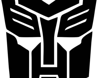 AutoBots Transformers Vinyl Decal