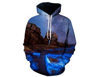 Galaxy Hoodie, Galaxy Sweatshirt, Galaxy, Galaxy Jumper, Galaxy Hoodies, Space, Space Hoodie, 3d Hoodie, 3d Hoodies, Hoodie - Style 45