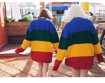 UNIF rainbow sweatshirts !