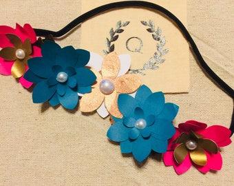 Mini Blooms Floral Headpiece