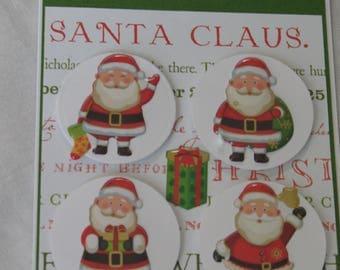 Sale Santa Claus Christmas Card