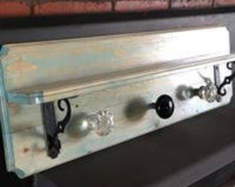 Victorian doorknob shelf