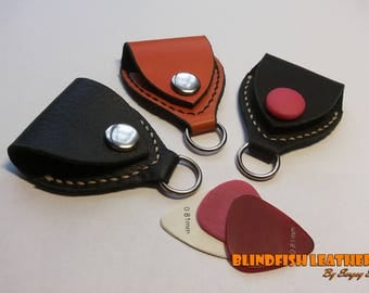Leather Picks Case, Guitar Pick Case, Guitar Player Gift