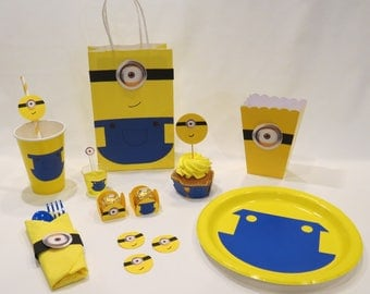 Minions Party Supplies - Kit #2A