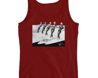 Swing Dance Shirt - Water skiing ladies - Ladies' Swing Swag Tank
