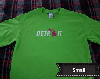 Detroit with Michigan