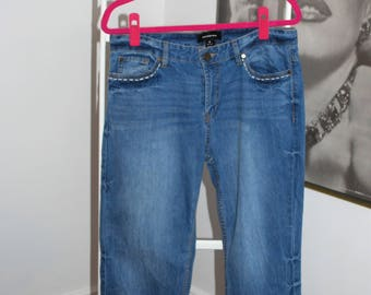 Hand Embroidered Jeans by Who What Wear