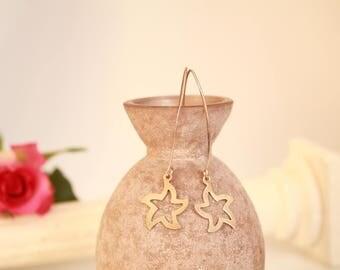 925 Sterling Silver Earrings, Star Earrings, modern, minimalist, trendy, simple, contemporary, nice gift idea