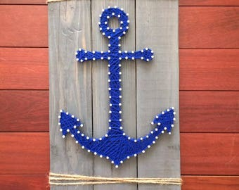 Anchor String Art, Made to Order
