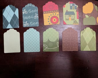 Homemade Tags - 25 total