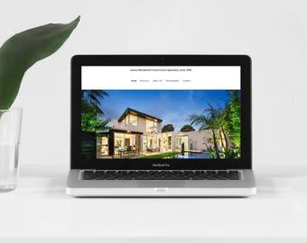 Portfolio Website - Portfolio website with personal domain - Custom design website