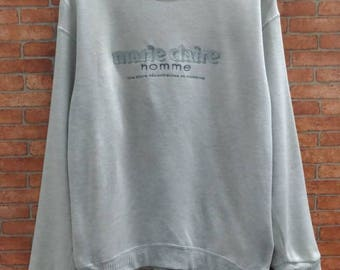 Rare!! Marie Claire sweatshirt Medium Size
