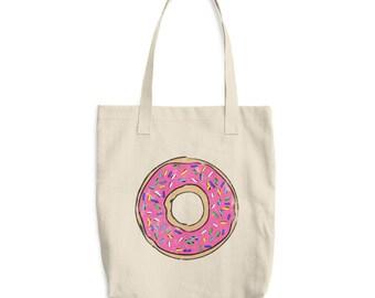 Donut Tote Bag, Tote Bag, Shopping Bag, Donut Bag, Donut Gift, Donut Lover, Doughnut Tote Bag, Donut, Doughtnut, Donuts, Tote, Donut Party