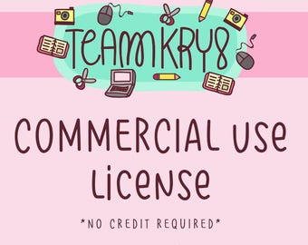 Team Kry8 Commercial Use License No credit required