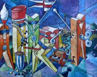 Canvas Painting, Original, Abstract Painting, Oriгginal Art, Acrylic Art, Modern Art, Contemporary Home Decor, Art