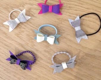 Hair elastic/accessory bow