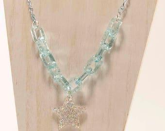 Shine Bright - Decoden Kawaii Star Chain Necklace