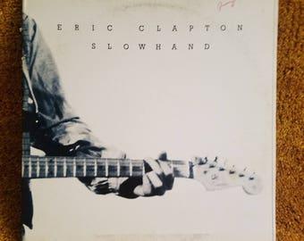 Vinyl: Eric Clapton, Slow Hand, Free Shipping