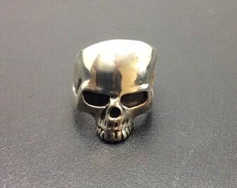Silver Skull Ring.