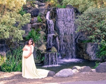 The Lily Maternity Gown