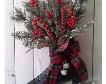 Creative upcycled Holiday Decor