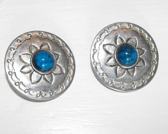 Sterling Silver Clip-on Earrings.