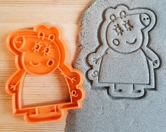 Mama Pig Peppa Pig Cookie Cutter