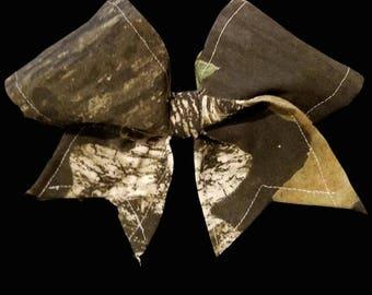 Cheer bow - jojo bow style - Camo
