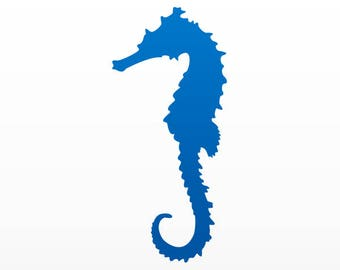 Sticker Decals Seahorse Hippocampus Figure Atv Hobbies 09183