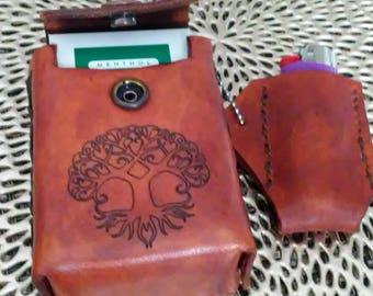 Cigarette and lighter case