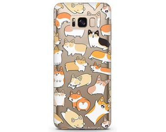 Corgi phone case dog lover gift cute corgi pixel 2 xl case dog corgi phone cover Samsung s7 case google pixel 2 phone case Samsung Galaxy s8