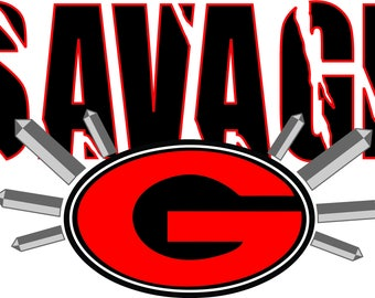 UGA Savage Cut File