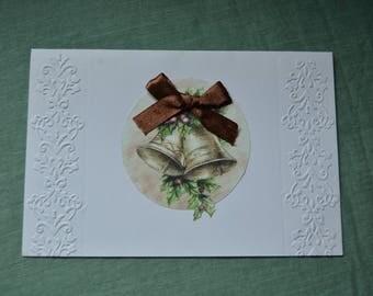 Christmas card, Handmade card