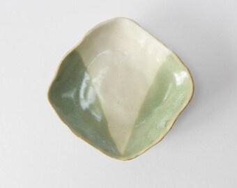 Ceramic ring dish/ key bowl
